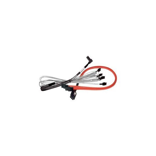 Areca Multilane Breakout Cable, CBL-SFF8087SB-SATA-08M