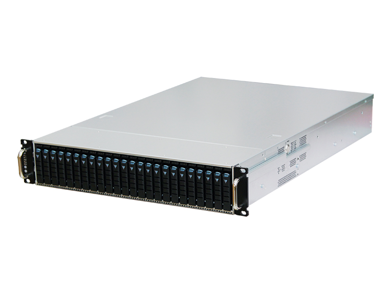 AIC RSC-2AT XE1-2AT01-01 2U 24-bay Storage Server Chassis