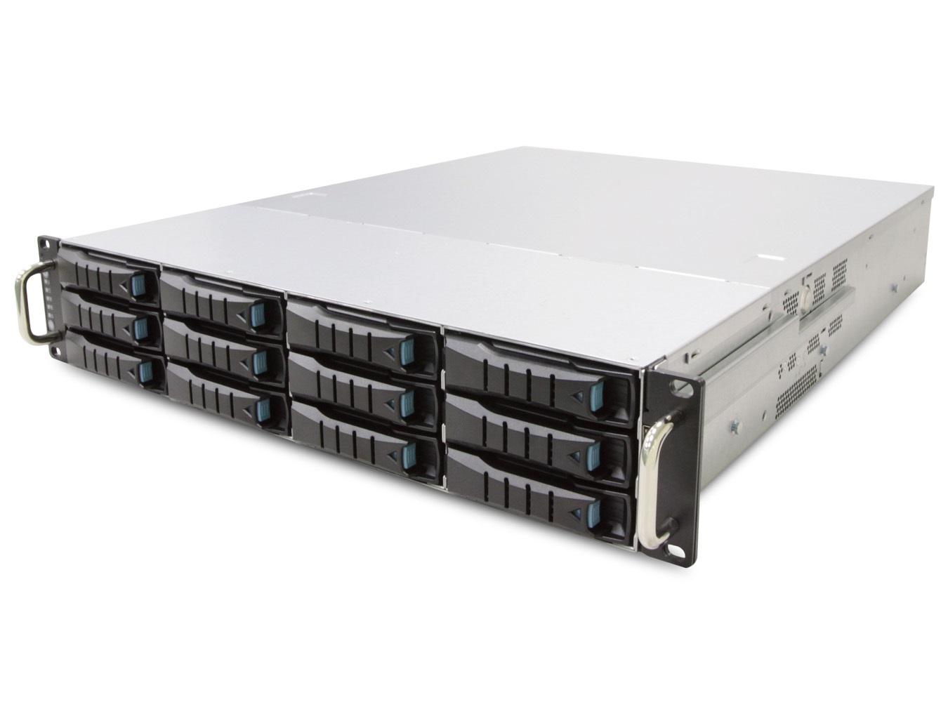 AIC RSC-2ETS XE1-2ETS0-02 2U 12-bay Storage Server Chassis