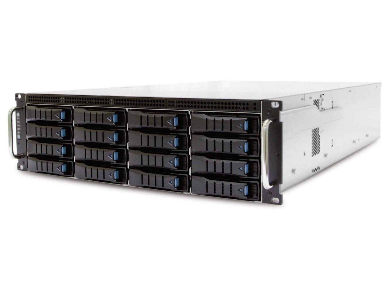 AIC RSC-3ET XE1-3ET00-03 3U 16-bay Storage Server Chassis