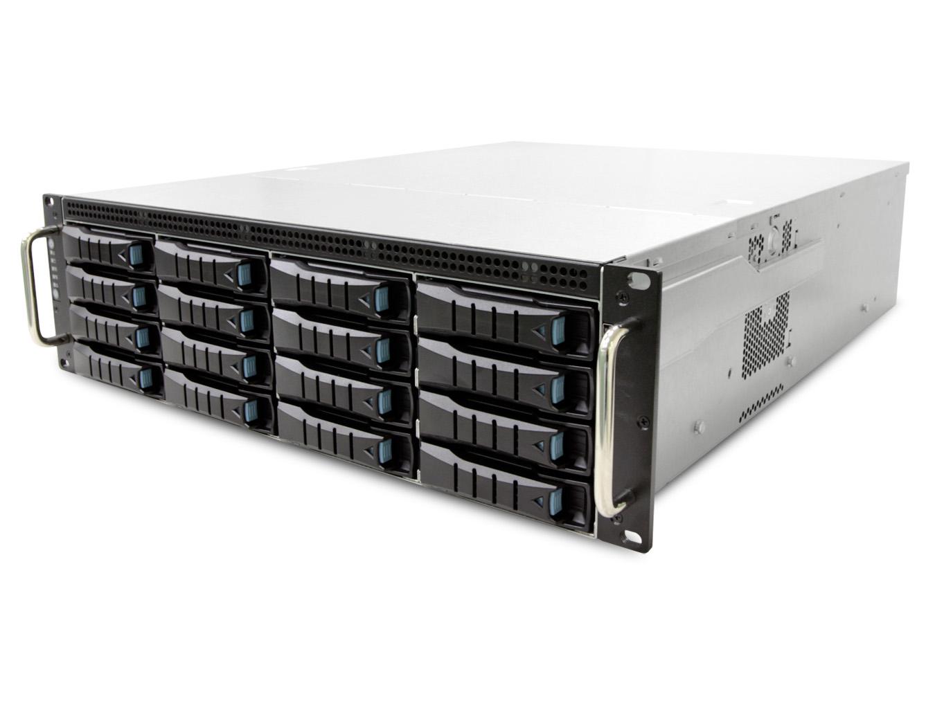 AIC RSC-3ETS XE1-3ETS0-02 3U 16-bay Storage Server Chassis