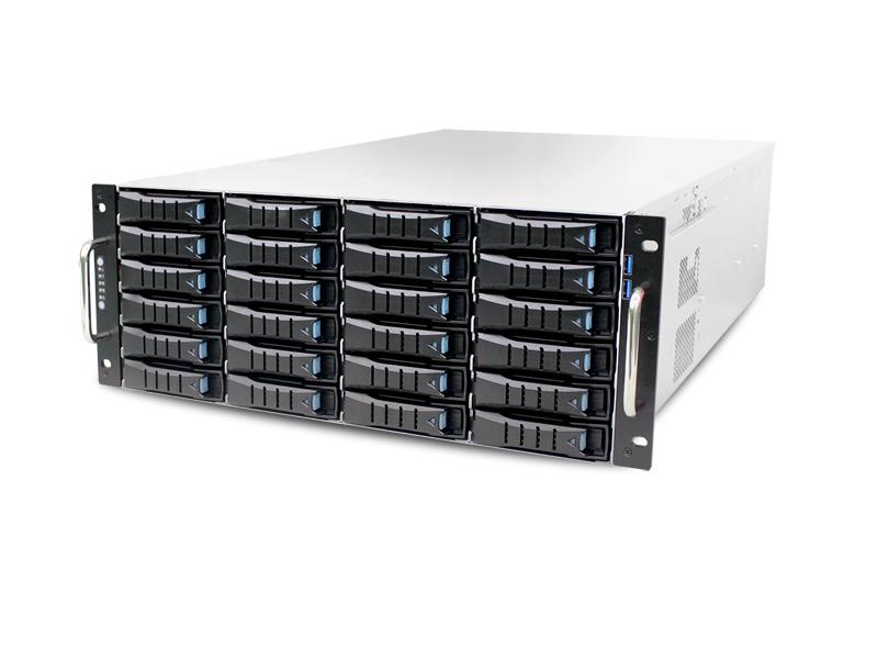 AIC RSC-4ET XE1-4ET00-01 4U 24-bay Storage Server Chassis
