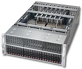 Supermicro SuperServer 4048B-TRFT - rack-uitvoering - zonder CPU - 0 MB - 0 GB