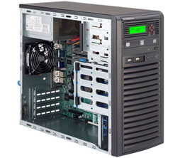 Supermicro SuperServer 5038D-I - MDT - zonder CPU - 0 MB - 0 GB