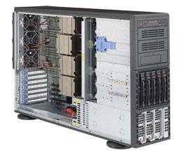 Supermicro SuperServer 8048B-C0R3FT - towermodel - zonder CPU - 0 MB - 0 GB