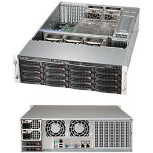 "Supermicro 3U 16x 3.5"" Bays SuperChassis 836BE1C-R741B"