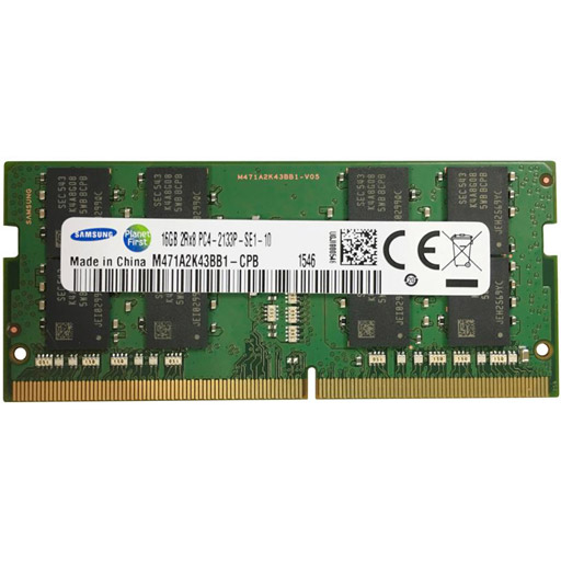 Samsung 16GB DDR4 DIMM 2133MHz Registered ECC 1.2 Volt