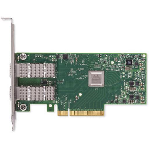 Mellanox ConnectX-4 Lx EN network interface card, 10GbE dual-port SFP28, PCIe3.0 x8, tall bracket