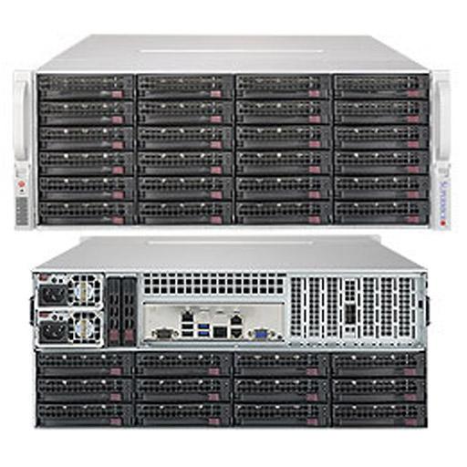 "Supermicro 4U 36x 3.5"" Bays SuperStorage Barebone Server 5049P-E1CTR36L"