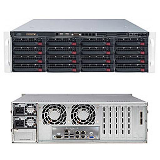 "Supermicro 3U 16x 3.5"" Bays SuperStorage Barebone Server 6038R-E1CR16N"