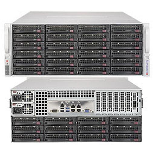 "Supermicro 4U 36x 3.5"" Bays SuperStorage Barebone Server 6048R-E1CR36N"