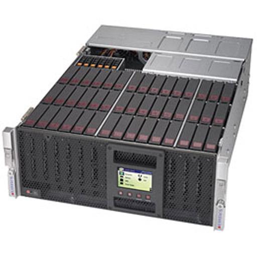 "Supermicro 4U 45x 3.5"" Bays SuperStorage Barebone Server 6048R-E1CR45H"
