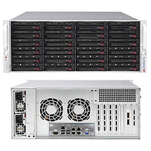 "Supermicro 4U 24x 3.5"" Bays SuperStorage Barebone Server 6049P-E1CR24H"
