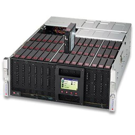 "Supermicro 4U 45x 3.5"" Bays SuperStorage Server 6049P-E1CR45H (Complete System Only)"