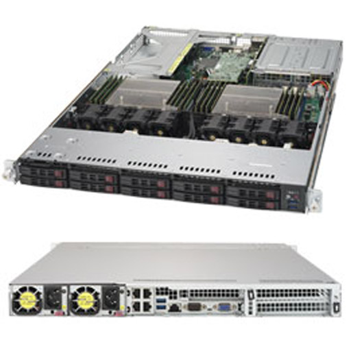 """Supermicro 1U 10x 2.5"""" Bays SuperServer 1028UX-LL3-B8 (Complete System Only)"""