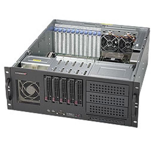 "Supermicro 4U 5x 3.5"" Bays SuperServer Barebone 6048R-TXR"