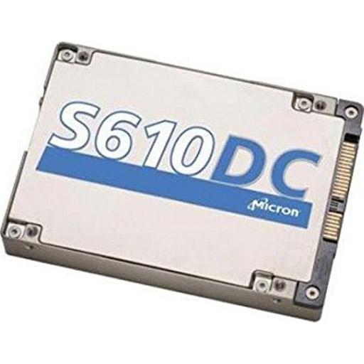 "Micron S610DC 3.8TB, SAS, 12Gb/s, eMLC, 2.5"" 15mm, 1DWPD"