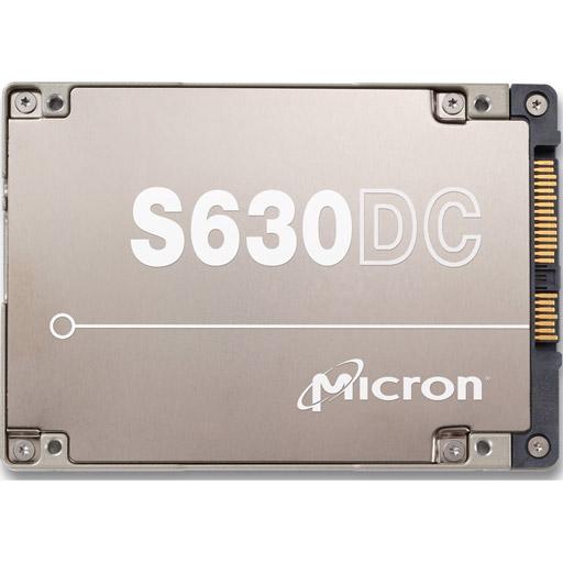 "Micron S630DC 3.8TB, SAS 12Gb/s eMLC, 2.5"", 15mm, 3DWPD"