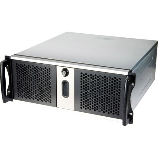 """Chenbro 4U 17.5"""" Compact Industrial Server Chassis"""