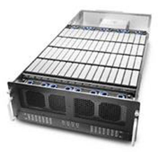 "Chenbro 4U 33.4"" 60-Bays,w/SAS Expanders, 1100W RPSU, Rail (Dual Domain)"