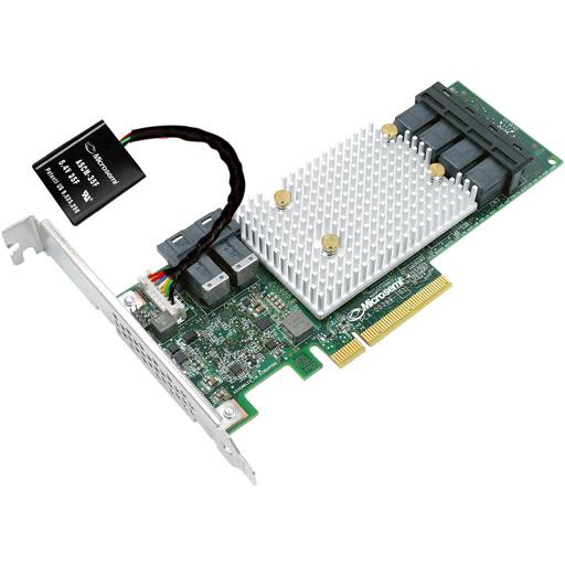Adaptec 3154-24i 12Gb/s SmartRAID Adapter 24 port Int MiniSAS HD SFF-8643