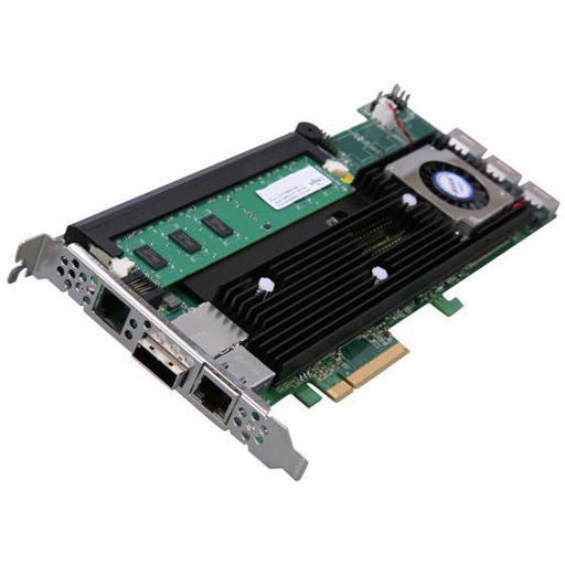 Areca 4 port 6Gb/s SAS PCIe x8 RAID Card, Dual Core ROC, RAID 0/1/3/5/6, 1GB Cache