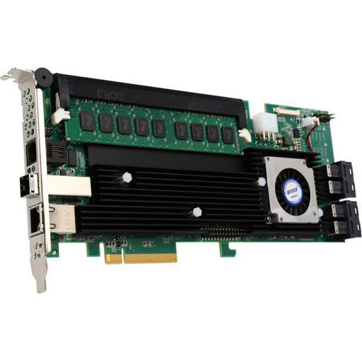 Areca 16 port 12Gb/s SAS RAID PCIe Card, Dual Core ROC, RAID 0/1/3/5/6, 2GB Cache