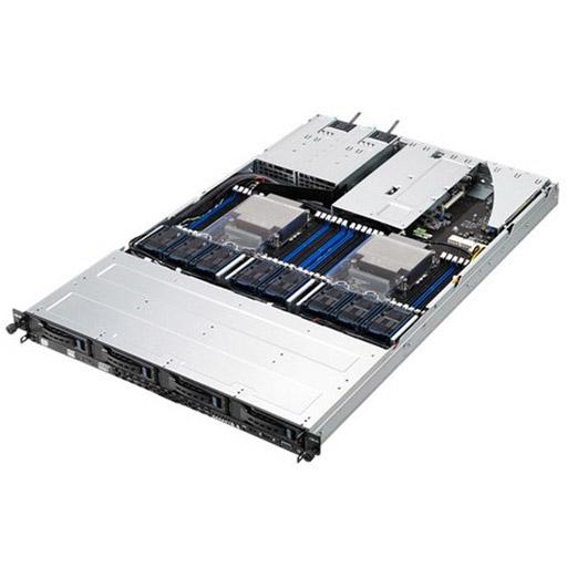 ASUS Barebone RS700-E8-RS4 V2 1U, 4x 3.5inch Hot-swap, 2x LGA2011-3, 24x DDR4 max 1.5TB, ASM-iKVM, 2x GbE, 3x PCIe, 1x OCP, 10x SATA, 1x M.2, Redundant PSU