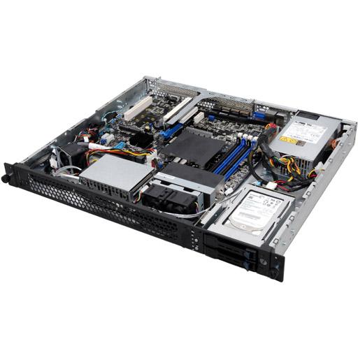 ASUS Barebone RS200-E9-PS2 1U, 2x 2.5inch Hot-swap, 1x LGA1366, 24x DDR2 max 1.5TB, 1x GbE, 2x PCIe, 2x SATA, Single PSU