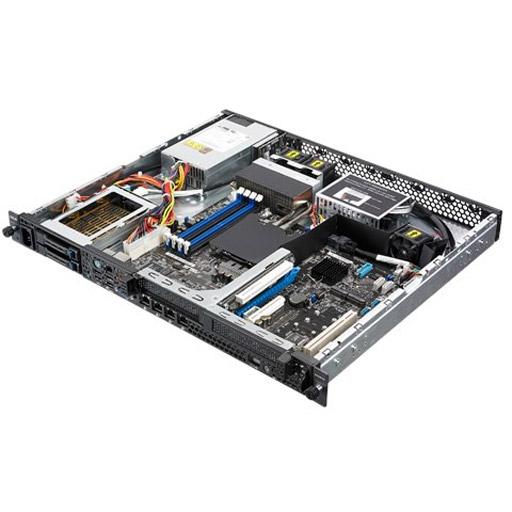 ASUS Barebone RS200-E9-PS2-F 1U, 2x 2.5inch Hot-swap, 2x 2.5inch Mount, 1x LGA1151, 4x DDR4 max 65GB, ASM-iKVM, 4x GbE, 2x PCIe, 6x SATA, 2x M.2, Single PSU