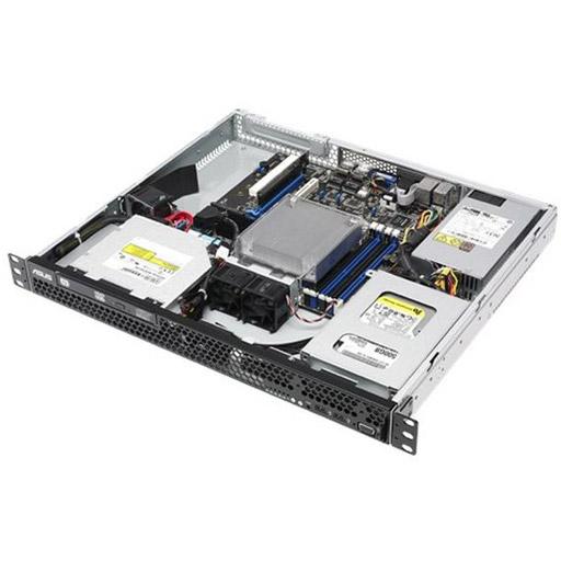 ASUS Barebone RS100-E9-PI2 1U, 2x 3.5inch, 1x 3.5inch + 4x 2.5inch, 1x LGA1151, 4x DDR4 max 64GB, ASM-iKVM, 2x GbE, 1x PCIe, 2x SATA, 2x M.2, Single PSU