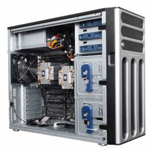ASUS Barebone TS700-E8-PS4 V2 Tower, 2x 4x 3.5inch Hot-swap, LGS2011-3, 16x DDR4 max 1TB, ASM-iKVM, 2x GbE, 6x PCIe, 10x SATA, 1x M.2, Single PSU