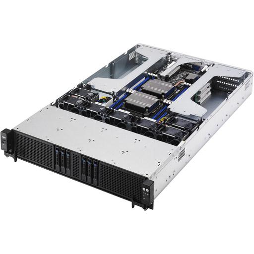 ASUS Barebone ESC4000 G3S 2U, 6x 2.5inch Hot-swap, 2x LGA2011-3, 16x DDR4 max 1TB, ASM-iKVM, 2x GbE, 8x PCIe, 6x SATA, Single PSU