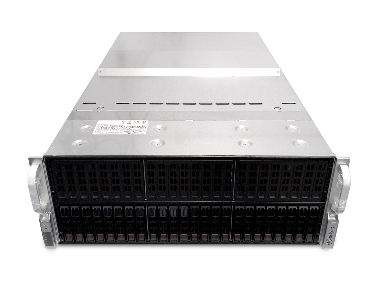 ServerDirect 4U GPU Server, 10 GPU's, 8x 16GB DDR4, 2x Intel Xeon E5-2697V4, 1x 256GB Storage (Configureerbaar)