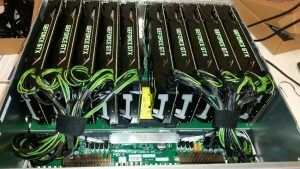 ServerDirect levert 10x (nVidia Titan X Pascal) GPU's in een server voor extreme rekenkracht