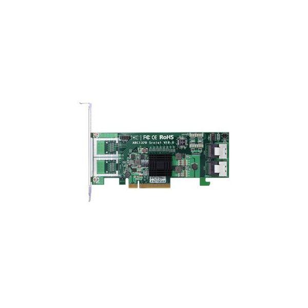 Areca ARC-1320-8i - controller voor opslag - SATA 6Gb/s / SAS 6Gb/s - PCIe 2.0 x8
