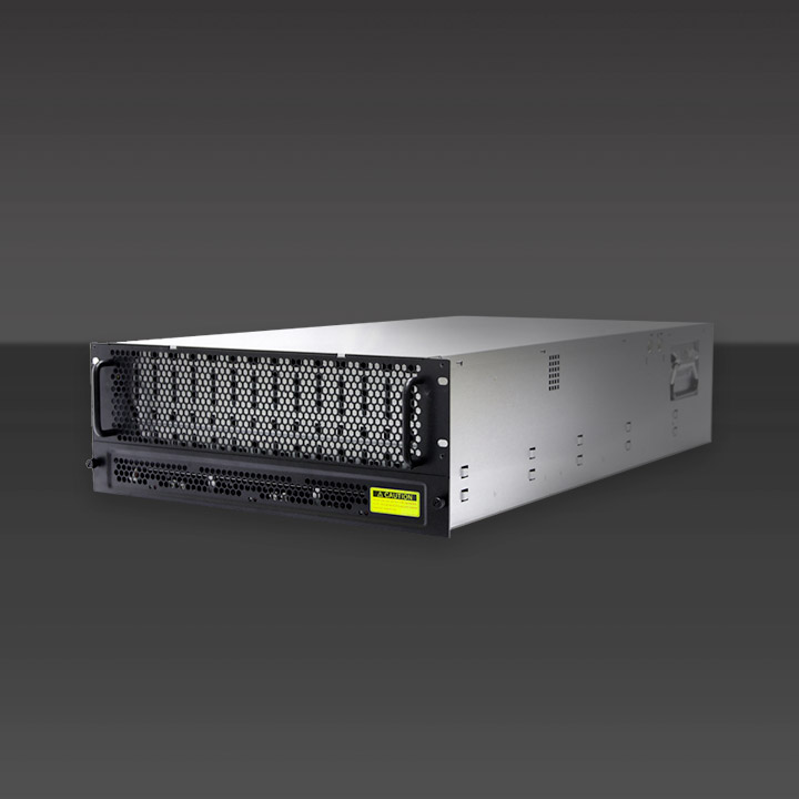 4U 60-Bay 12Gb/s JBOD with 10TB drives