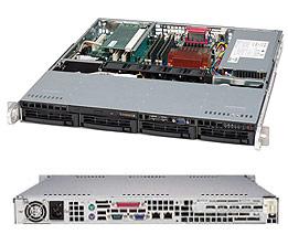 1U Mid Form Factor SATA/SAS (SES2) 350W Standard I/O B