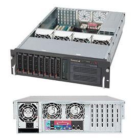 Supermicro 3U SuperChassis 650W CSE-832T-650B Black