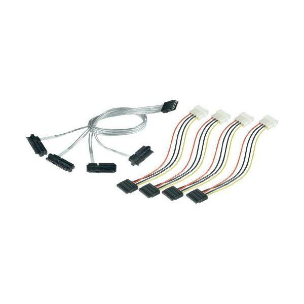 Adaptec Multilane Breakout Cable 1m ACK-I-mSASx4-SAS4x1-FO-1M R