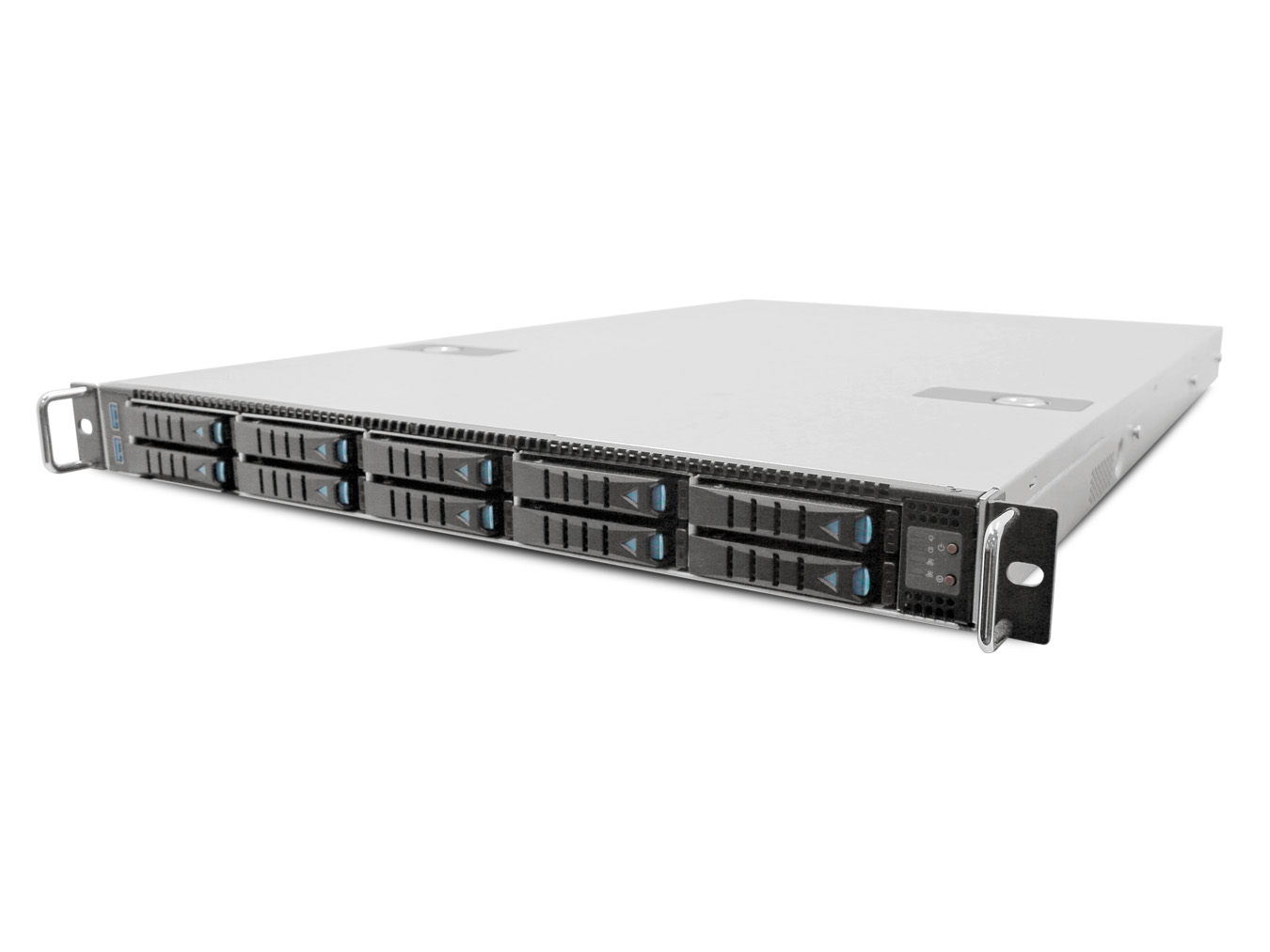 AIC RSC-1AT XE1-1AT00-01 1U SAS/SATA Storage Server Chassis