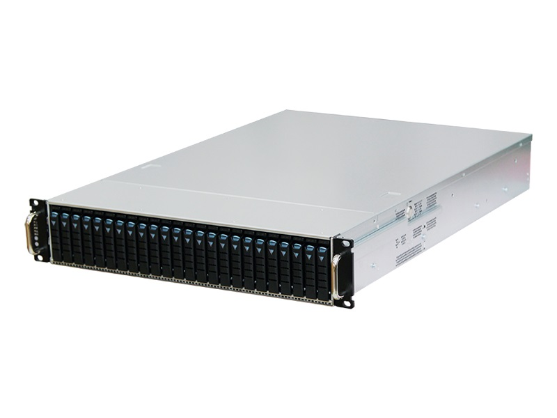 AIC RSC-2AT XE1-2AT01-02 2U 24-bay Storage Server Chassis