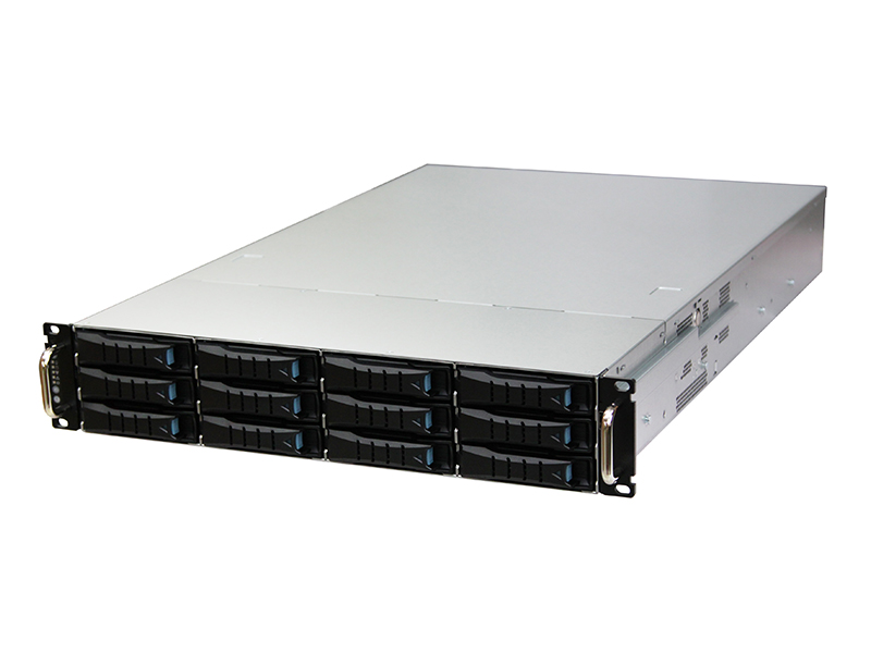 AIC RSC-2ET XE1-2ET00-02 2U 12-bay Storage Server Chassis