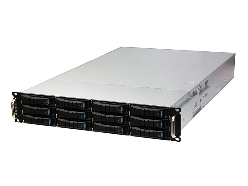 AIC RSC-2ET XE1-2ET00-03 2U 12-bay Storage Server Chassis