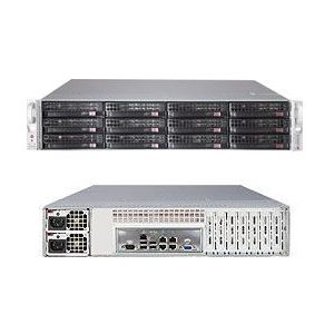 Supermicro 2U SuperStorage Server 6027R-E1R12L
