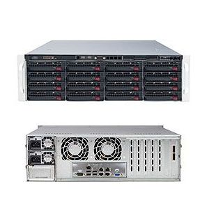Supermicro 3U SuperStorage Server 6037R-E1R16N