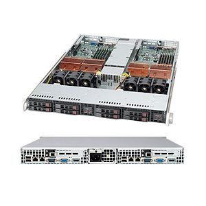Supermicro 1U Superserver 1025TC-TB Black