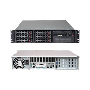 Supermicro 2U Superserver 5025B-TB Black