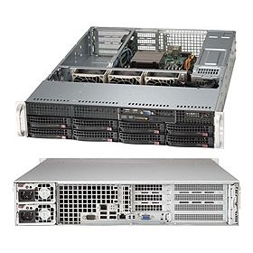 Supermicro 2U Superserver 5027R-WRF Black