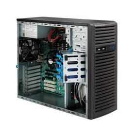 Supermicro Tower Superserver 5037C-T Black
